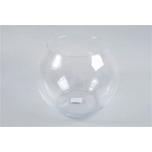Glass Vase Sphere Shaded 26x24cm