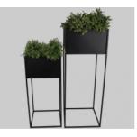 Planter Black 94x35x35cm - ETTEMÜÜK