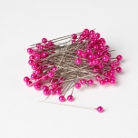 Pearl Pin Strong Pink 6mm