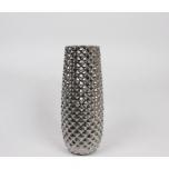 Pott Ariane Silver 16.5x16.5x40.5cm