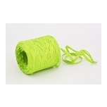 RAFFIA bright green 200m