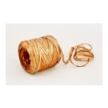 RAFFIA orange with gold 200m