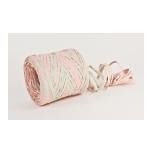 RAFFIA pink with mint 200m