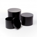 Symphony Hat Boxes Black