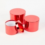 RD SHEEN HAT BOXES X3 RED 3TK