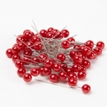 Pearl Pin Red 10mm
