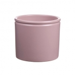 Pot Lucca d14xh12.5 light pink matt