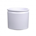Pot Lucca d14xh12.5 white matt