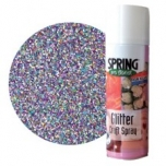Spring Glitterpaint 300ml Multicolour spraycan