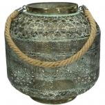 Lantern Metal Gold 29.5x29.5x27.5cm