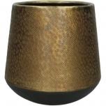 Planter Aluminium Bronze 26x26x27cm