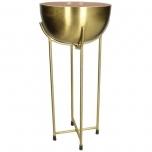 Bowl Metal Pink 26x26x55,5cm