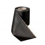 Verzugsmoiré-75mm-schwarz Piqué