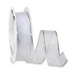 Pael Pattberg LUNA white 20-m-roll 25 mm w. wired edges