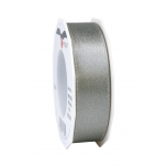 GLITTER SATIN slate/silver 20-m-roll 25 mm