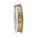 Pael Pattberg DEVON light gold 20-m-roll 15 mm w. wired edges