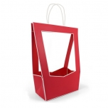 BAGS MEDAILLON 140 X 230 X 380 MM RED