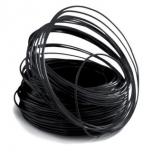 FIL ALUMINIUM COLORFILL / TRAAT POUR FLEURISTES 2X60 M Black