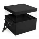 PANDORE BLACK ADJUSTABLE SQUARE BOX 2TK