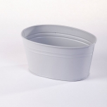 Matisse Oval Tin Trough (Lined) 18x11.5x8.5cm