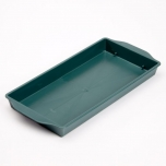 Single Brick Tray Green 1TK 25 x 13 x 3cm