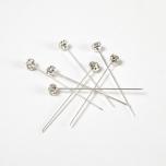 Diamond Pin Clear/Silver 4MM 12TK