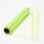 Organza Fabric Apple Green 40cm x 9m