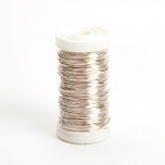 Metallic Wire Silver  0.50mm x 100g (approx 50m)