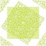 GENEROUS 80X80 CM GREEN 1tk