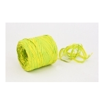 Raffia 03G - lemon with bright green