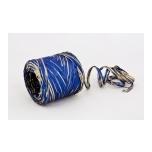 Raffia 18Z - navy blue with gold
