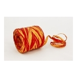 RAFFIA yellow with red 200m