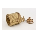 RAFFIA natural with brown 200m