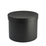 Hatbox round D.22xH.17cm Black 1TK