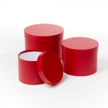 Symphony Hat Boxes RED 3TK