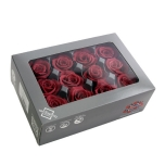 Stabiliseeritu Rosa Mini Capullo Cranberry 12tk