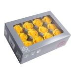 Stabiliseeritu Rosa Mini kollane 12tk