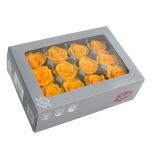 Stabiliseeritu Rosa Mini soe kollane 12tk