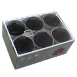 Stabiliseeritud Roos Standard 6tk karbis must